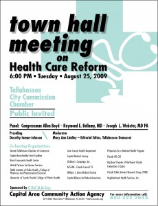 Town Hall Meeting - Health Care Reform